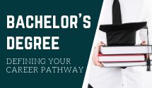 Bachelor Degree : Defining Your Career Pathway